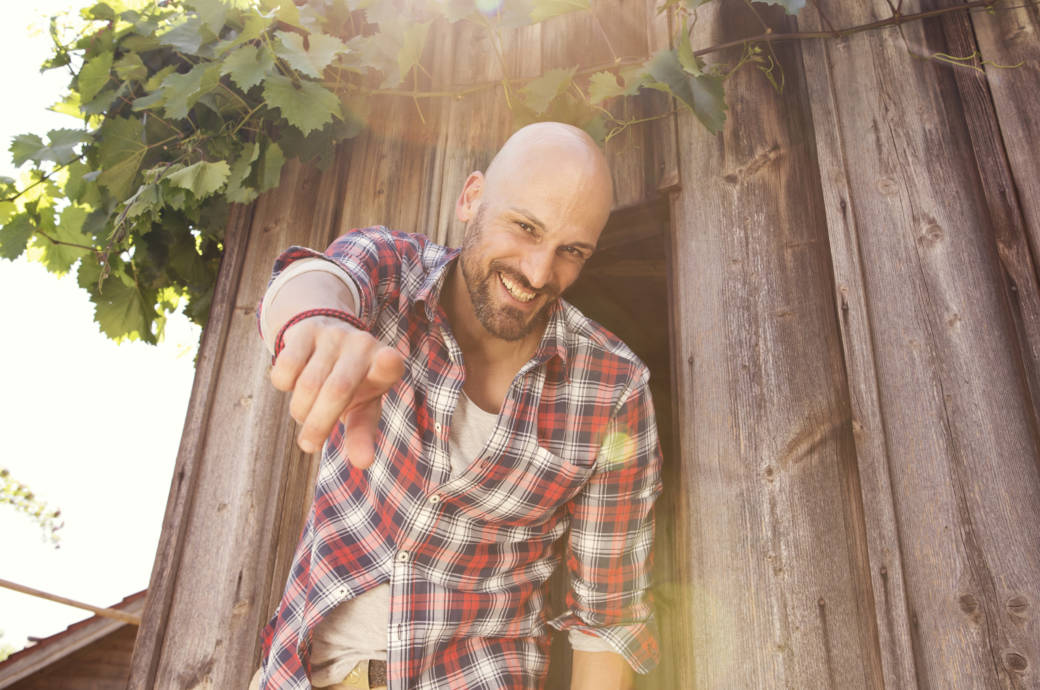 Männer mit Glatze sind selbstbewusster und erfolgreicher