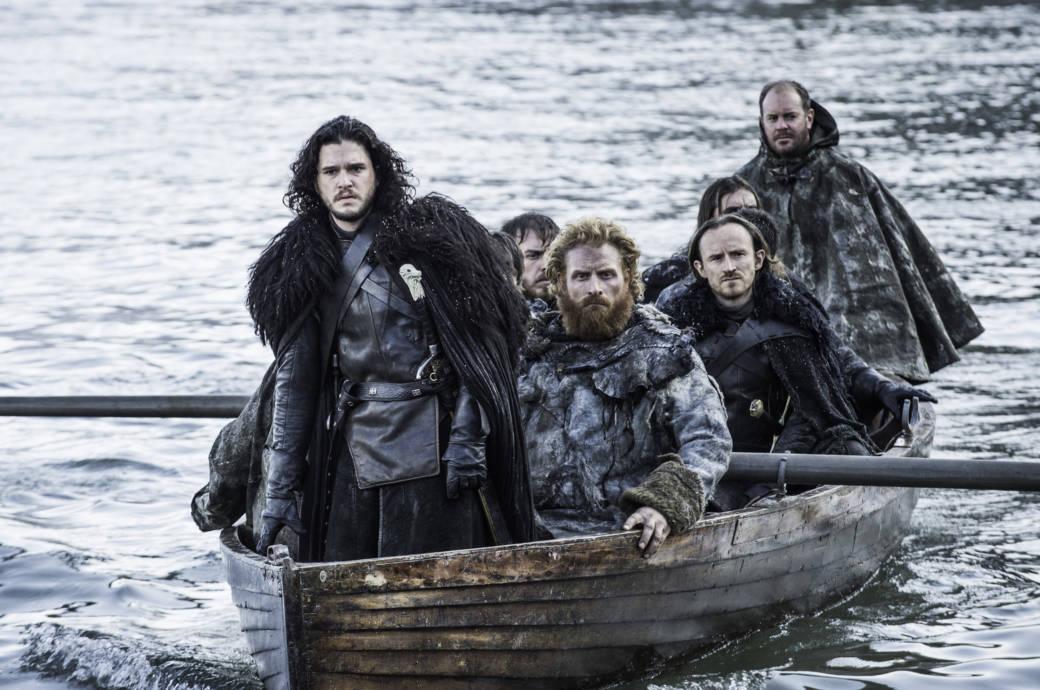 """Die """"Game of Thrones""""-Nachtwache wurde mit Ikea-Teppichen ausgestattet"""