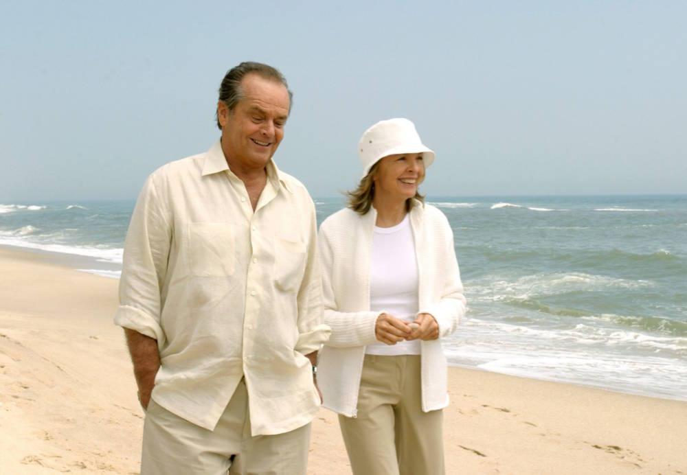 Jack Nicholson und Diane Keaton