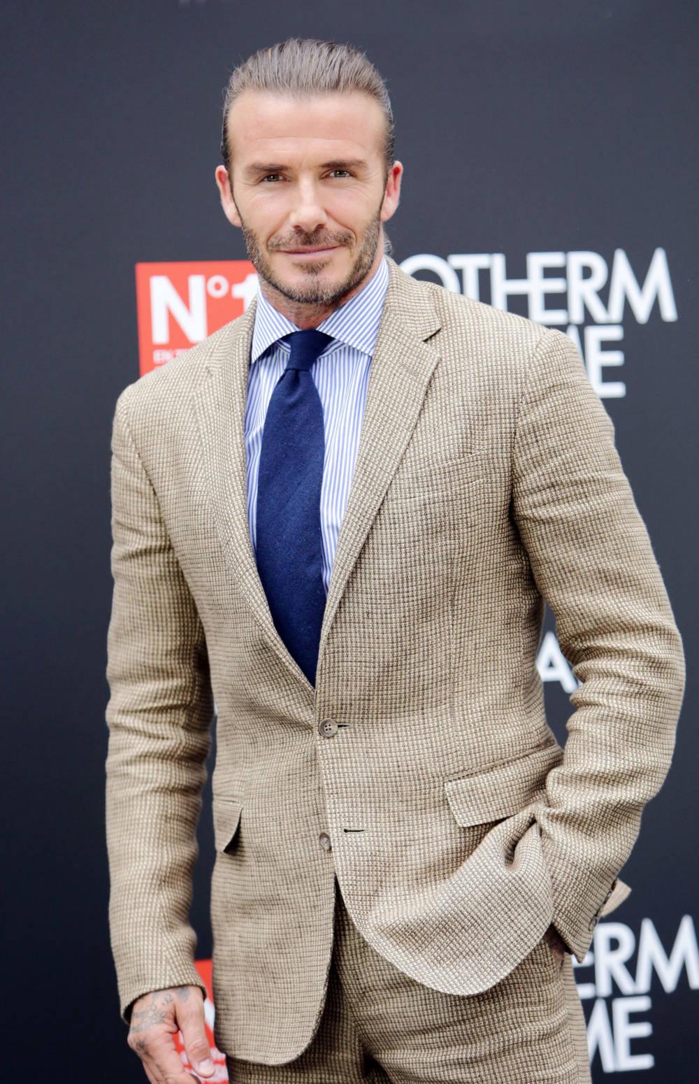 David Beckham im Juni 2017