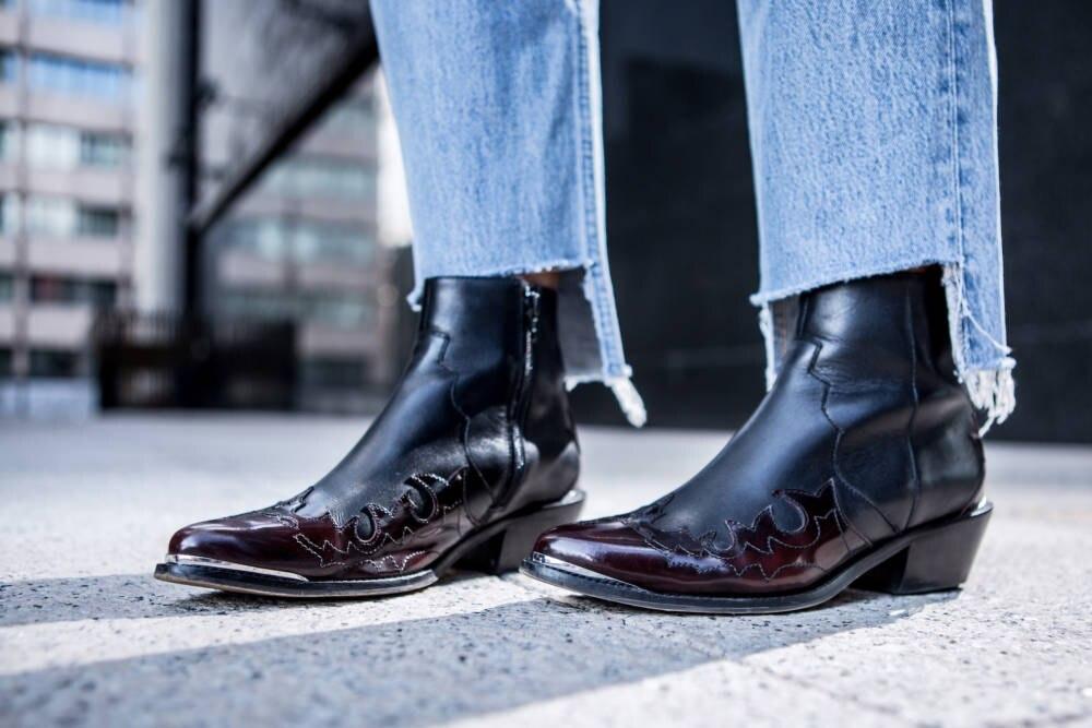 Asos Cowboy-Stiefel