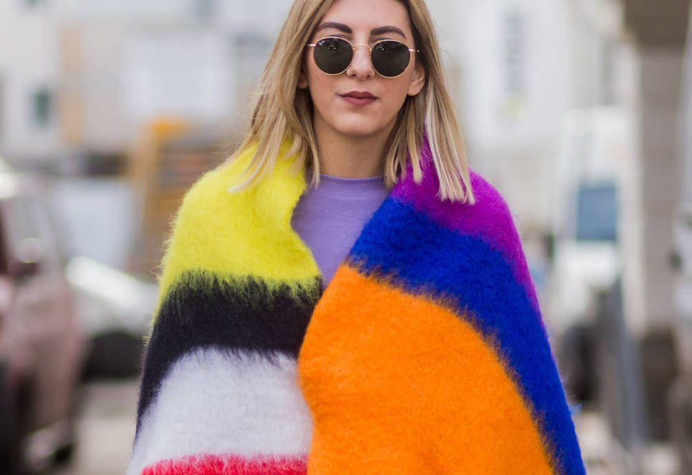 Kuscheldecke als Fashion-Trend