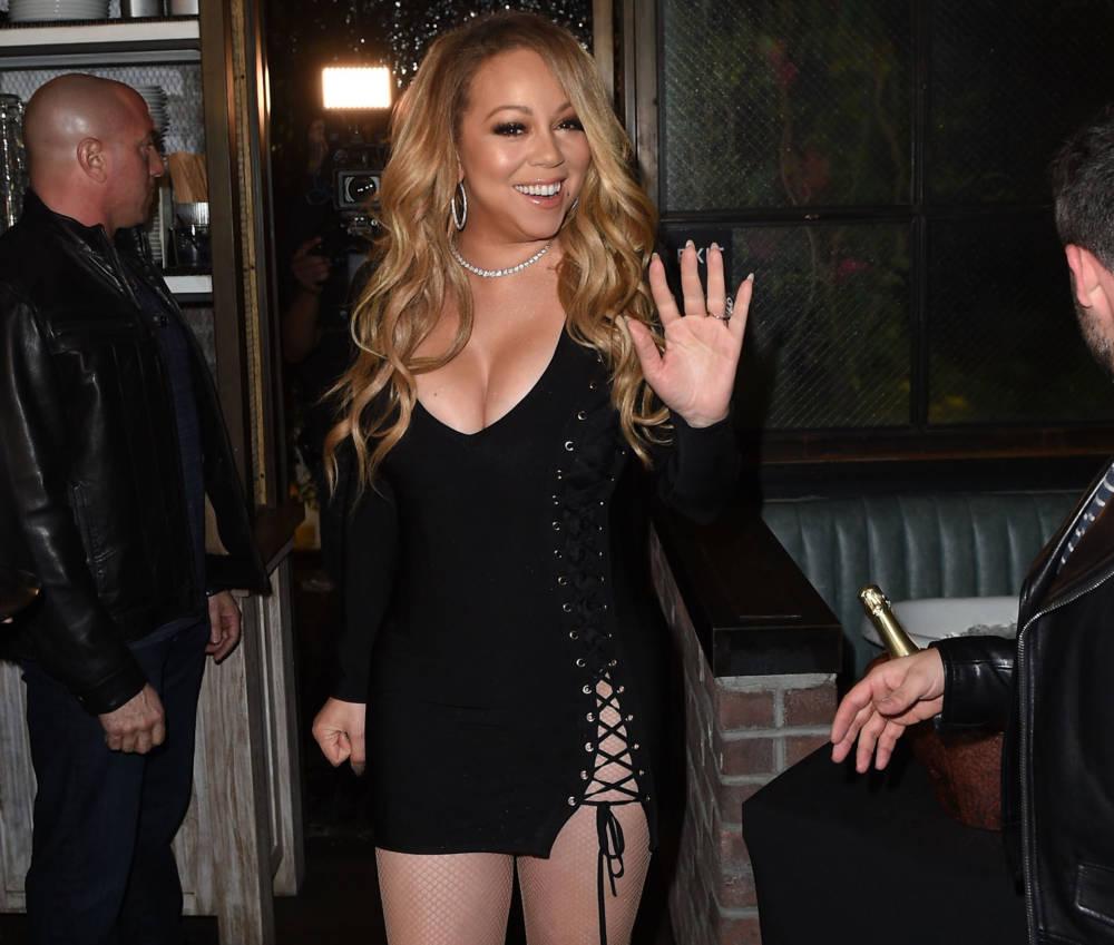 Mariah Carey im Februar 2017