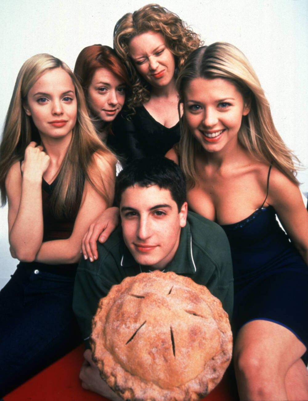 """Der """"American Pie""""-Cast im Jahr 1999. Es folgten ganz unterschiedliche Karrierewege"""