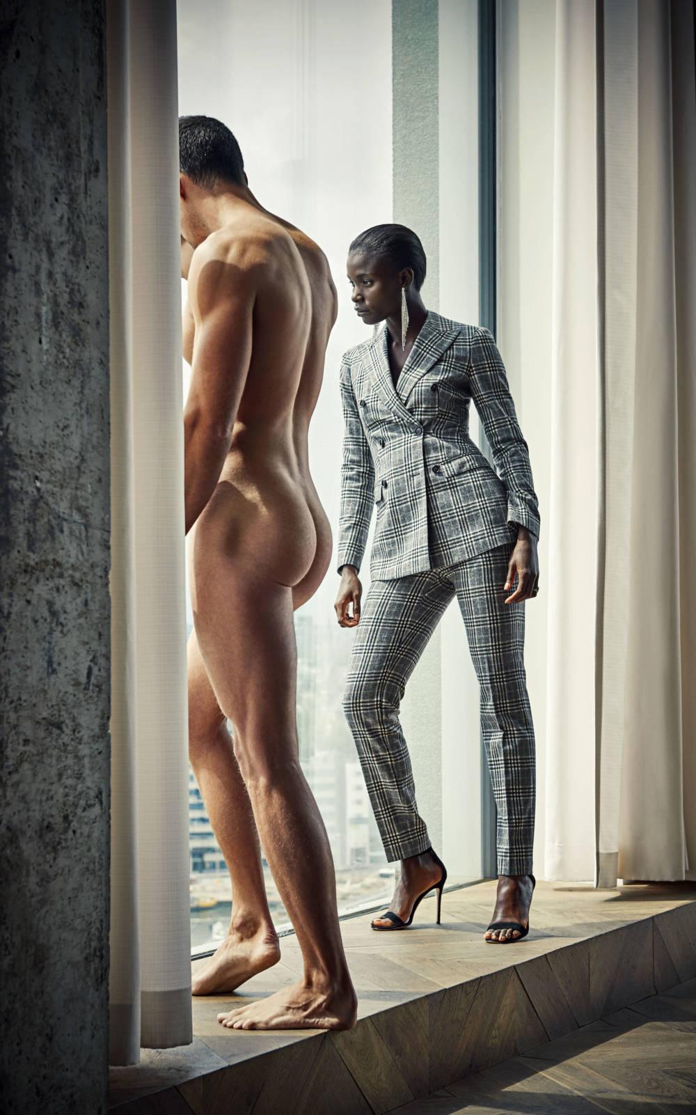 Frauen nackt mode