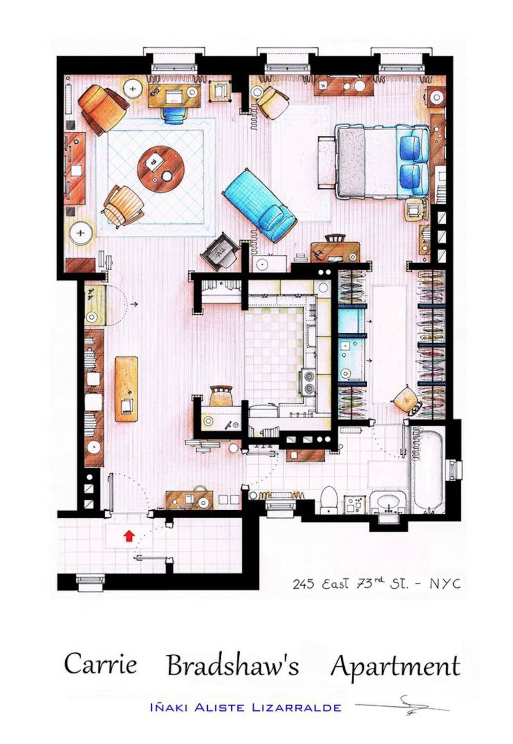 Carrie Bradshaws Apartment