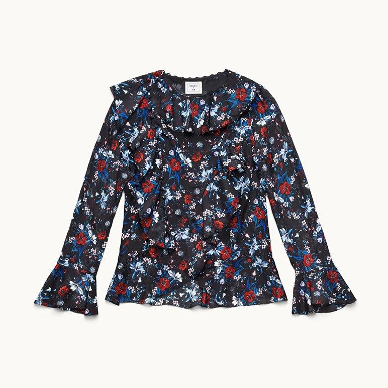 Bluse mit Blumen, Erdem x H&M
