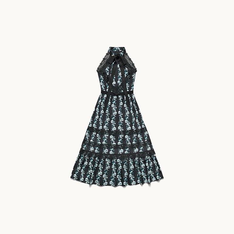 Kleid mit Blumen, Erdem x H&M
