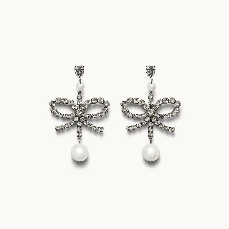 Strassohrringe mit Perlen, Erdem x H&M