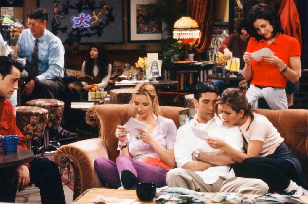 Set aus der TV-Serie Friends