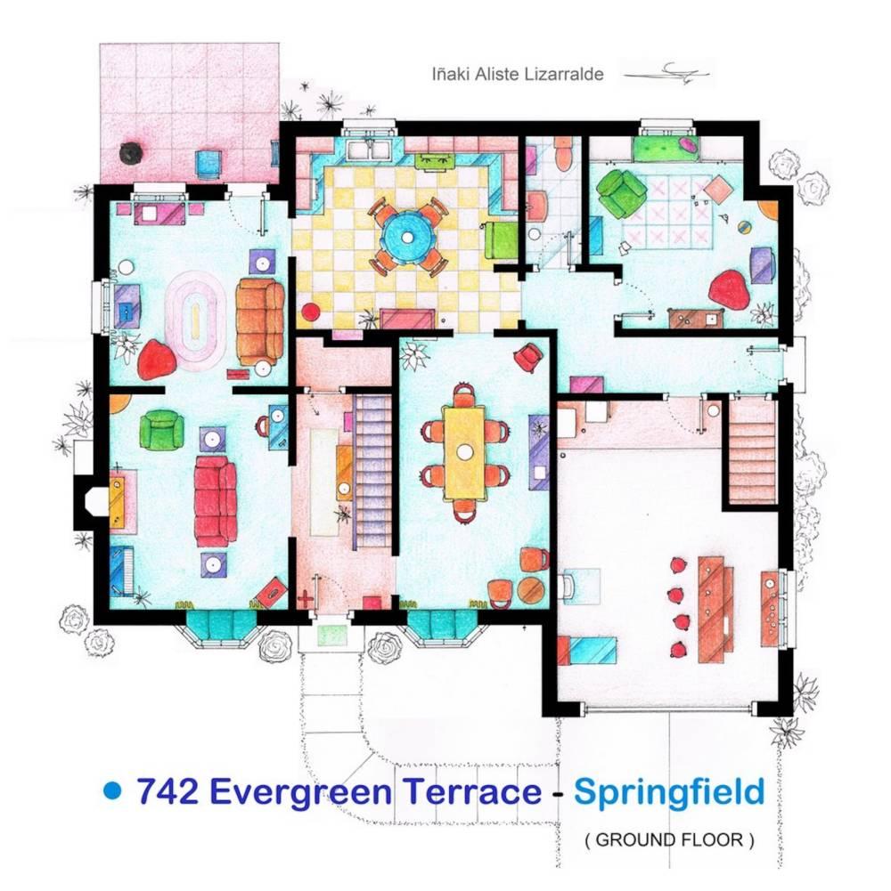 Die Simpsons Haus