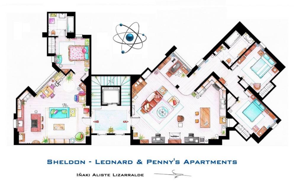 The Big Bang Theory Apartment