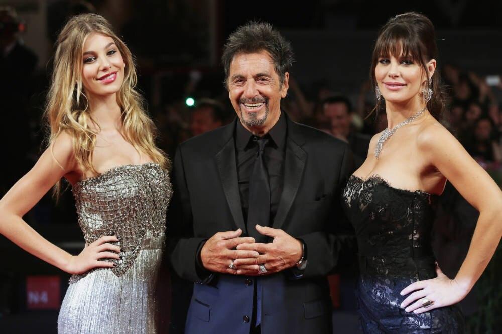 Camila Morrone, Al Pacino Lucila Solá in Cannes