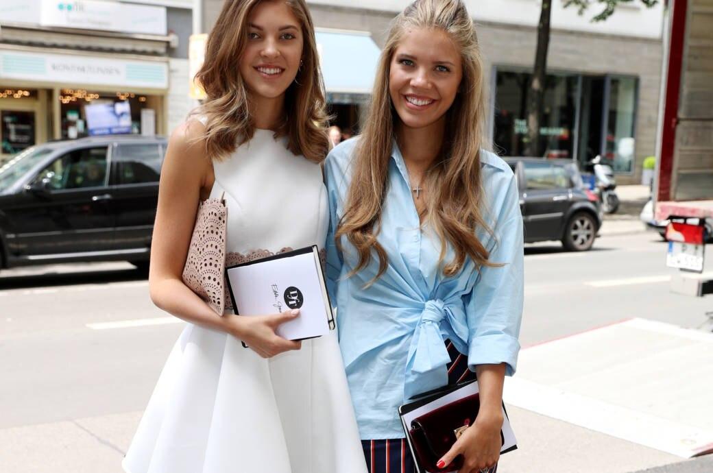 So Startet Victoria Swarovskis Schwester Paulina Als Model Durch