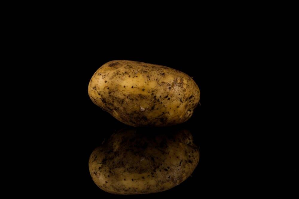 dreckige Kartoffel