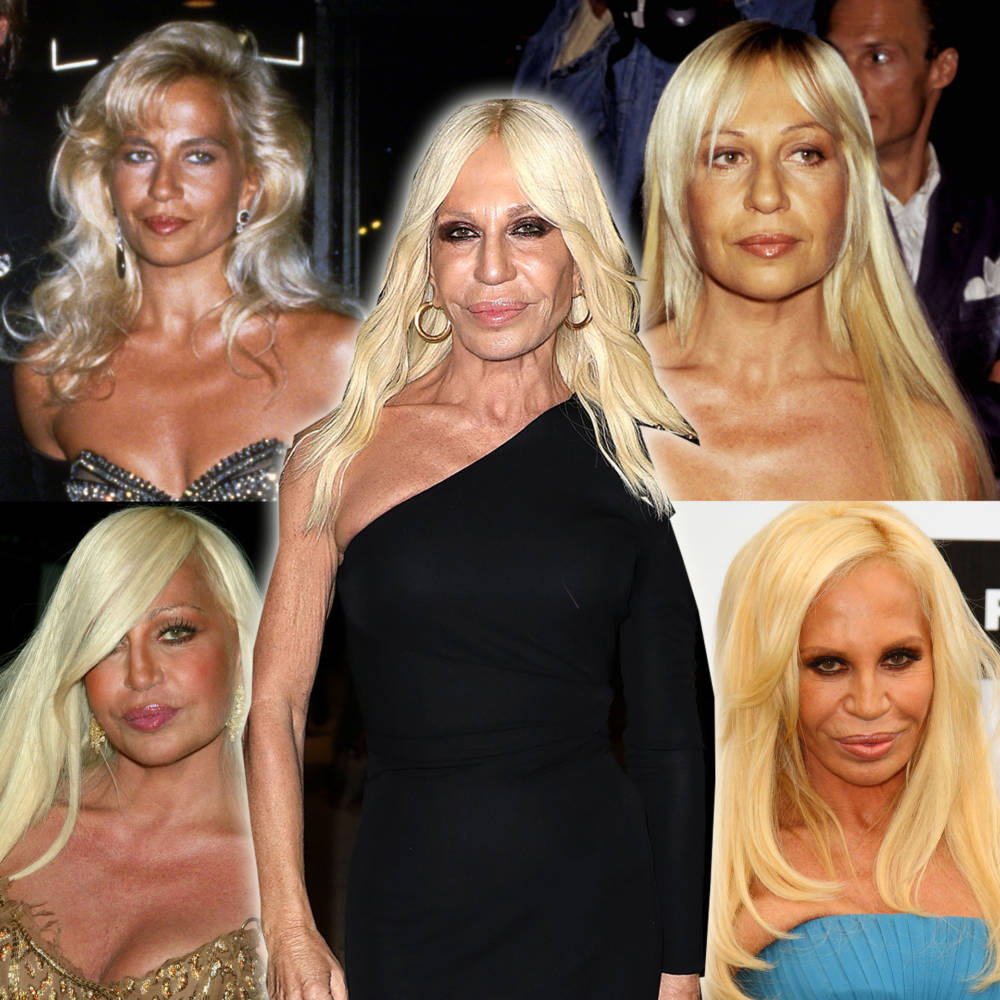 Donatella Versace 1989 bis 2018