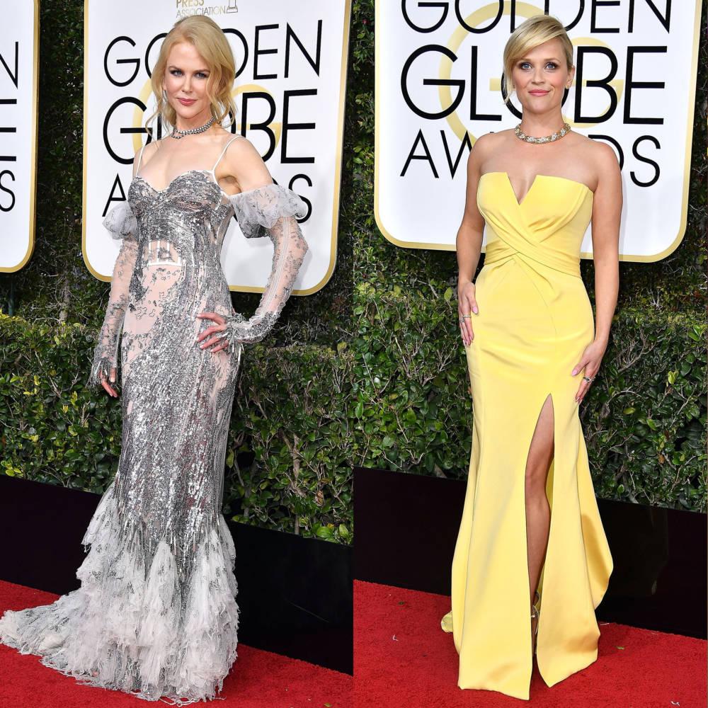 Golden Globes 2018: Barbara Meier kam nicht in schwarz