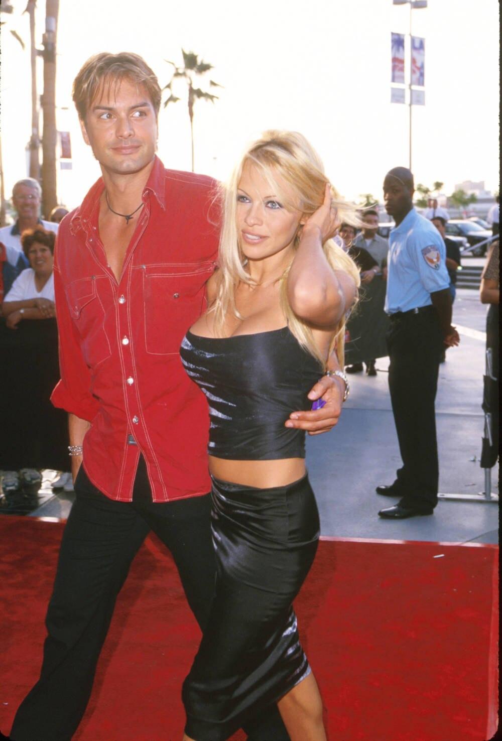 Marcus Schenkenberg, Pamela Anderson