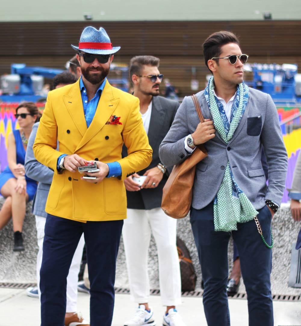 Fashion Week Streetstyle Männer