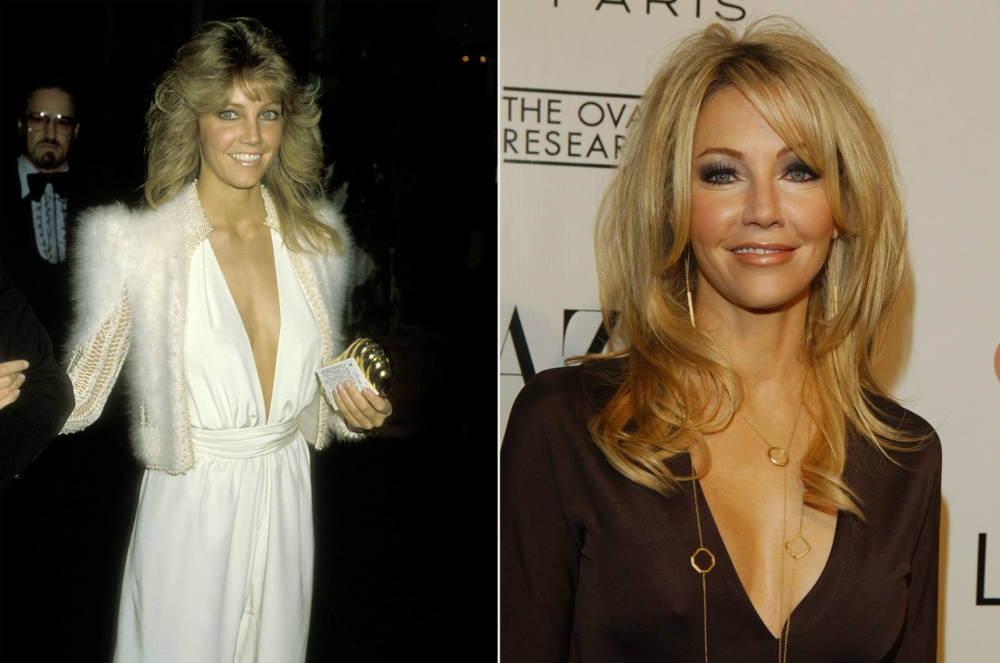 Heather Locklear 1984 und 2005
