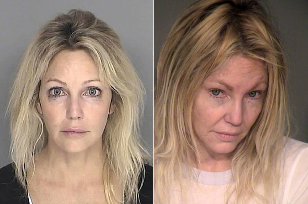 Heather Locklear 2008 und 2018