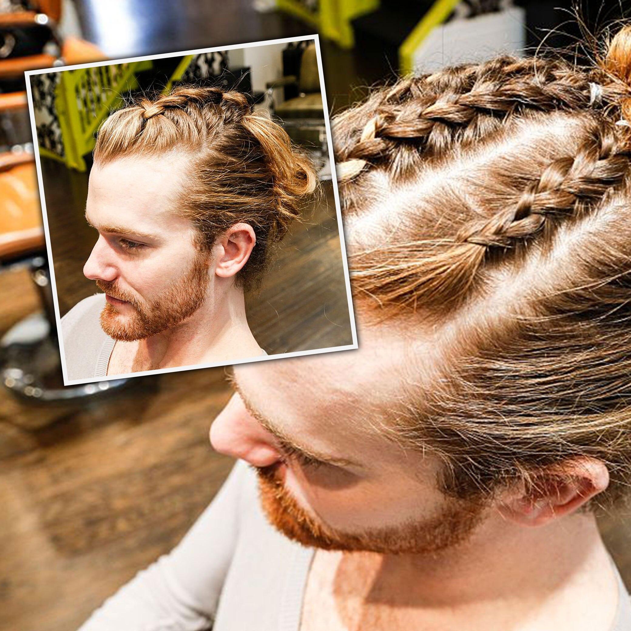 """Trend """"Man Braid"""": Warum flechten sich Männer die Haare?"""