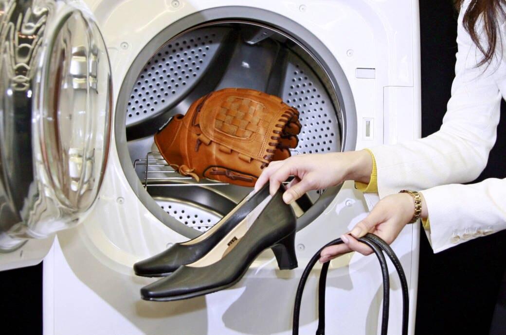 Leder waschen