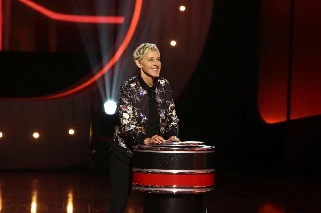 Ellen DeGeneres in einer TV-Show