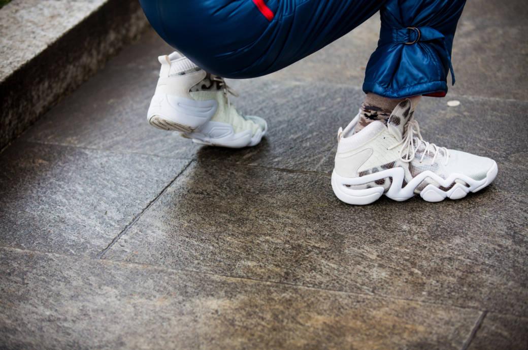 Sneaker Streetstyle Mailand Fashion Week