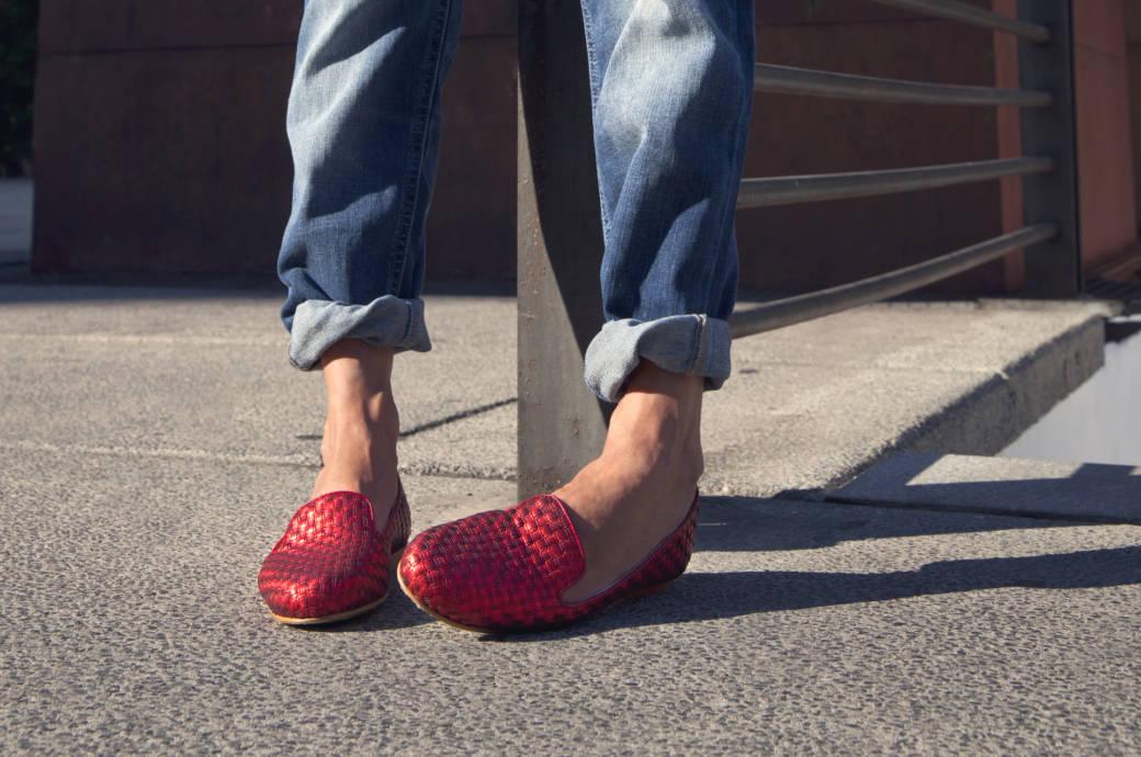 on sale c1119 1671b So schaden flache Schuhe ihren Füßen | STYLEBOOK