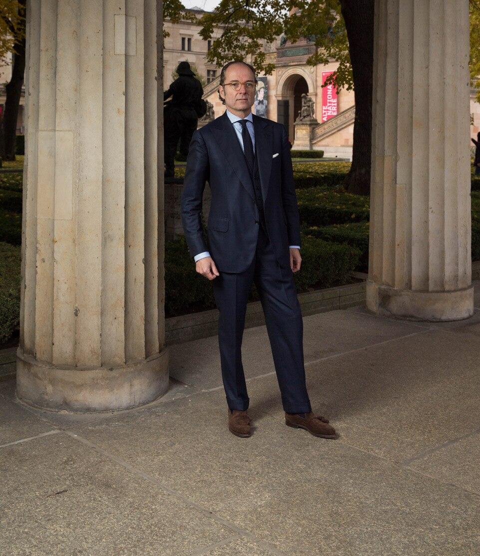 newest 191b9 f954f Stilexperte klärt auf: Das machen Männer beim Anzug falsch ...