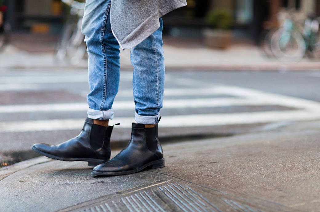 Street Style Chelsea Boots