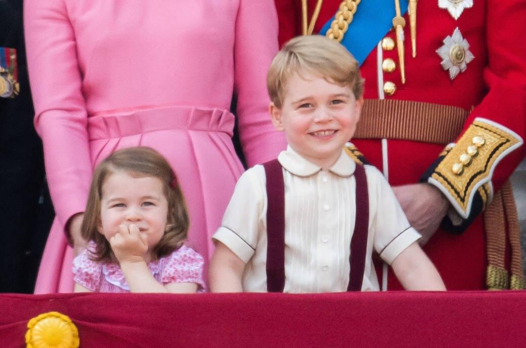 Prinzessin Charlotte Und Prinz George Sind Blumenkinder Stylebook
