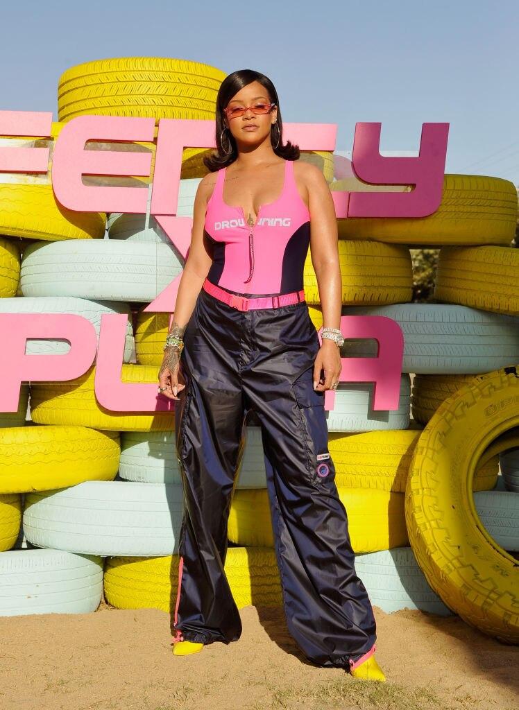 Rihanna während dem Coachella-Festival