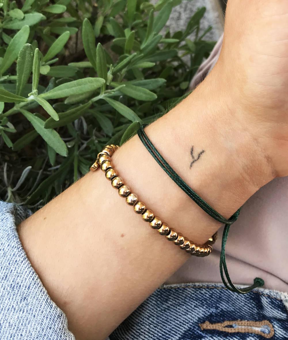 Mein selbstgestochenes Tattoo
