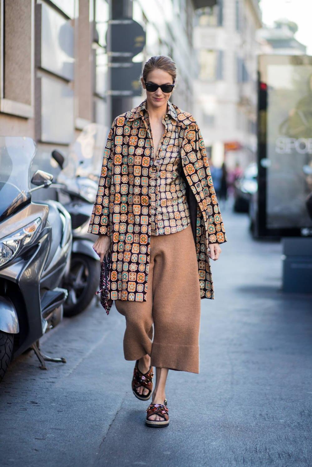 Street Style JJ Martin Culotte
