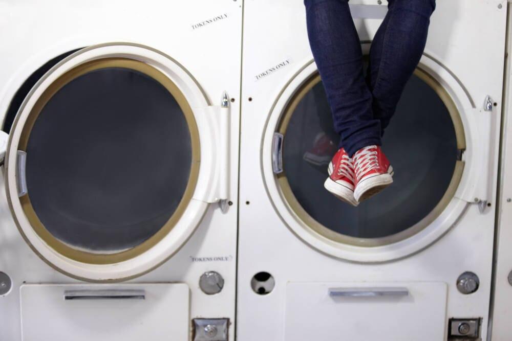 Stoffschuhe Waschmaschine