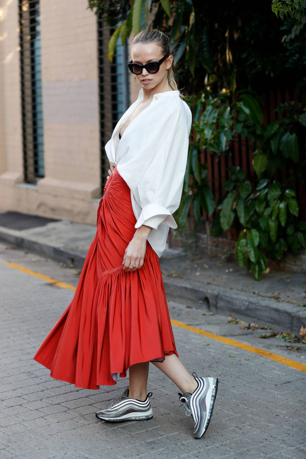 Street Style In Sydney - May 2018