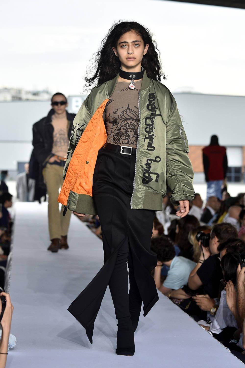 Vetements Look Haute Couture
