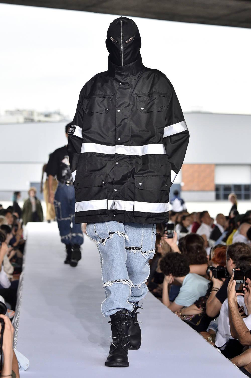 Vetements Funktionsjacke Haute Couture