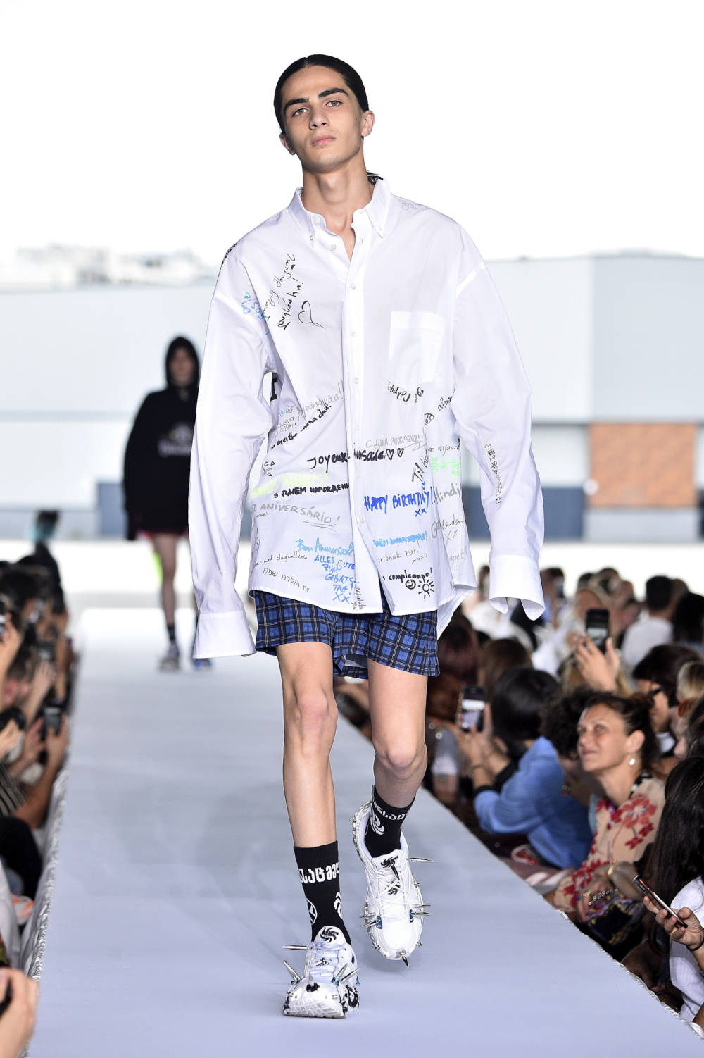 Vetements Hemd Haute Couture