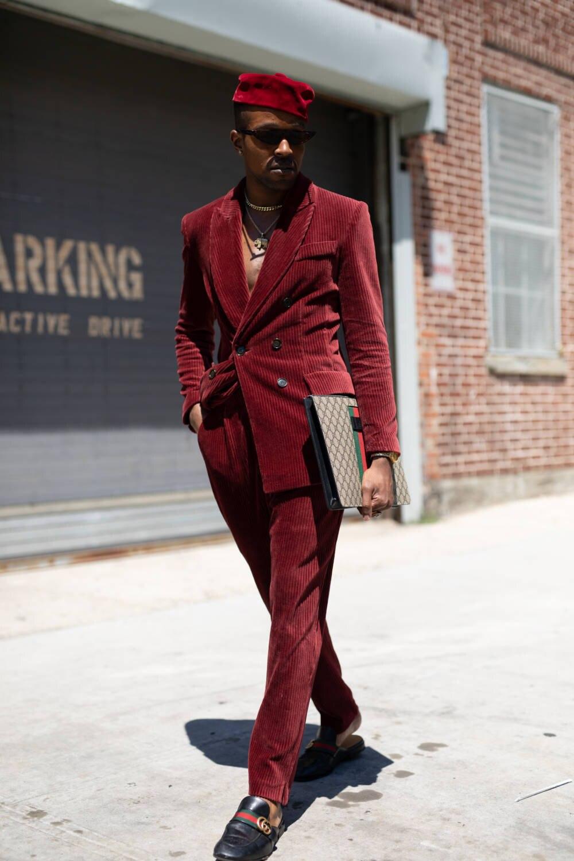 Street Style - July 2018 Men's Fashion Week