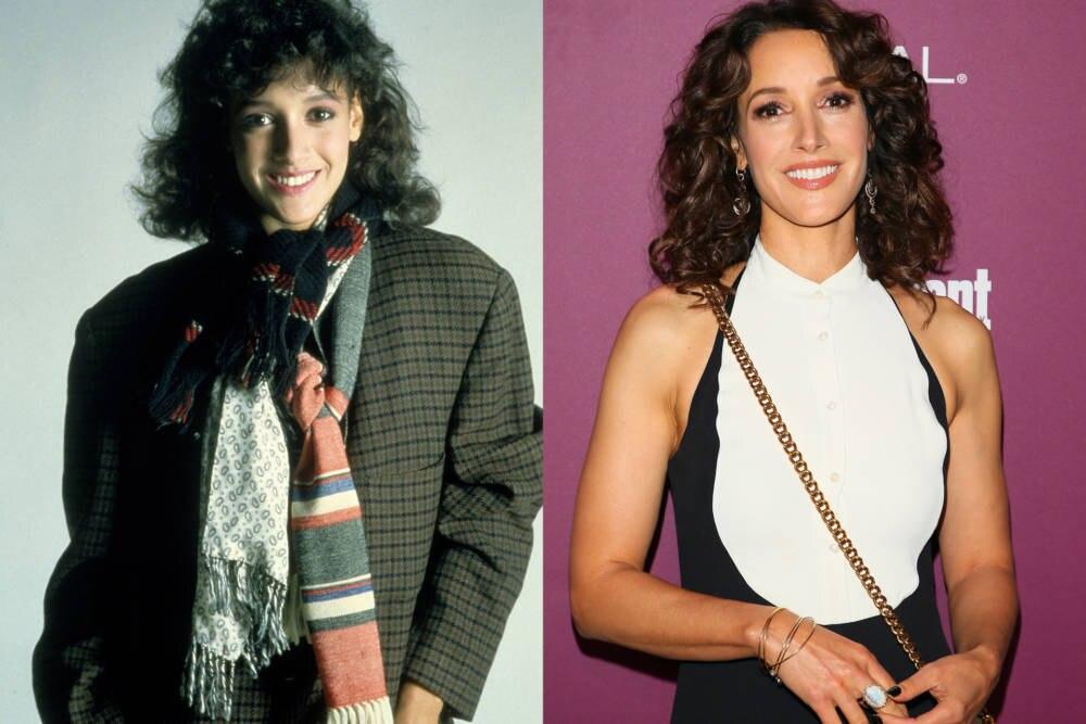 Jennifer Beals 1983 und 2017