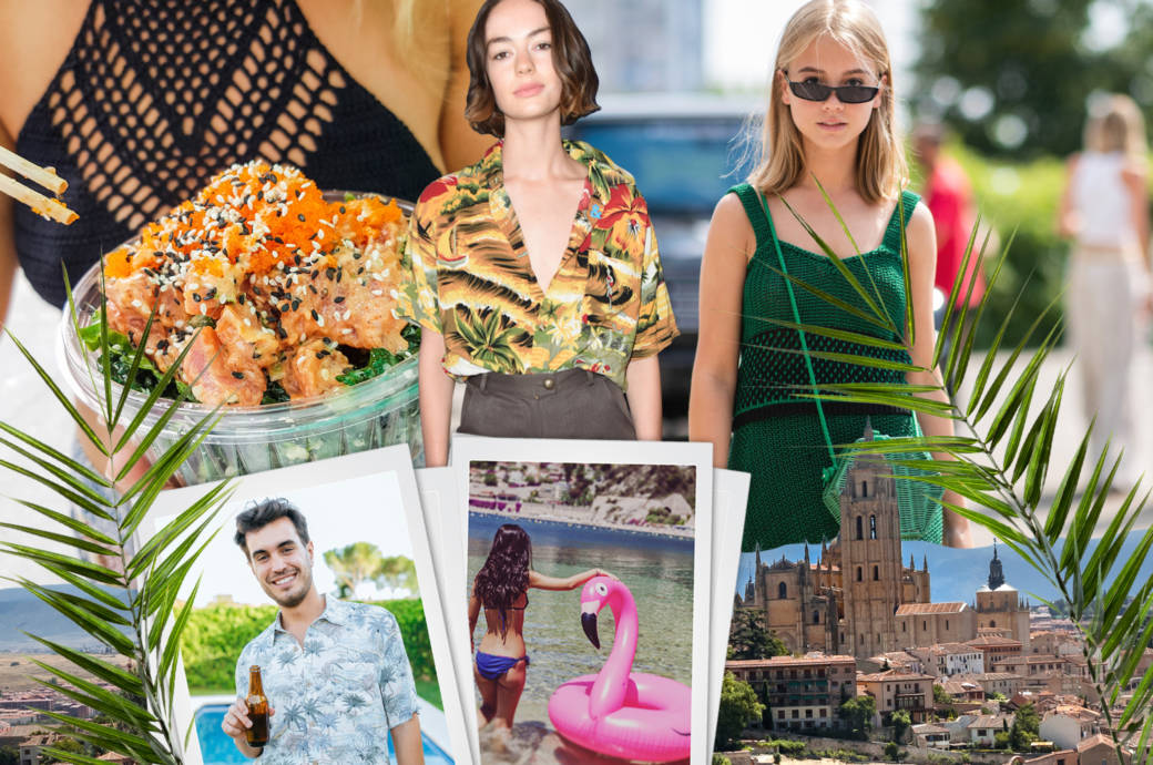 Sommer Trends Collage