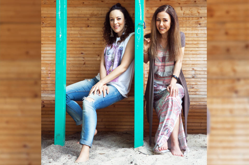 Jasmin Wagner und Anastasia Zampounidis