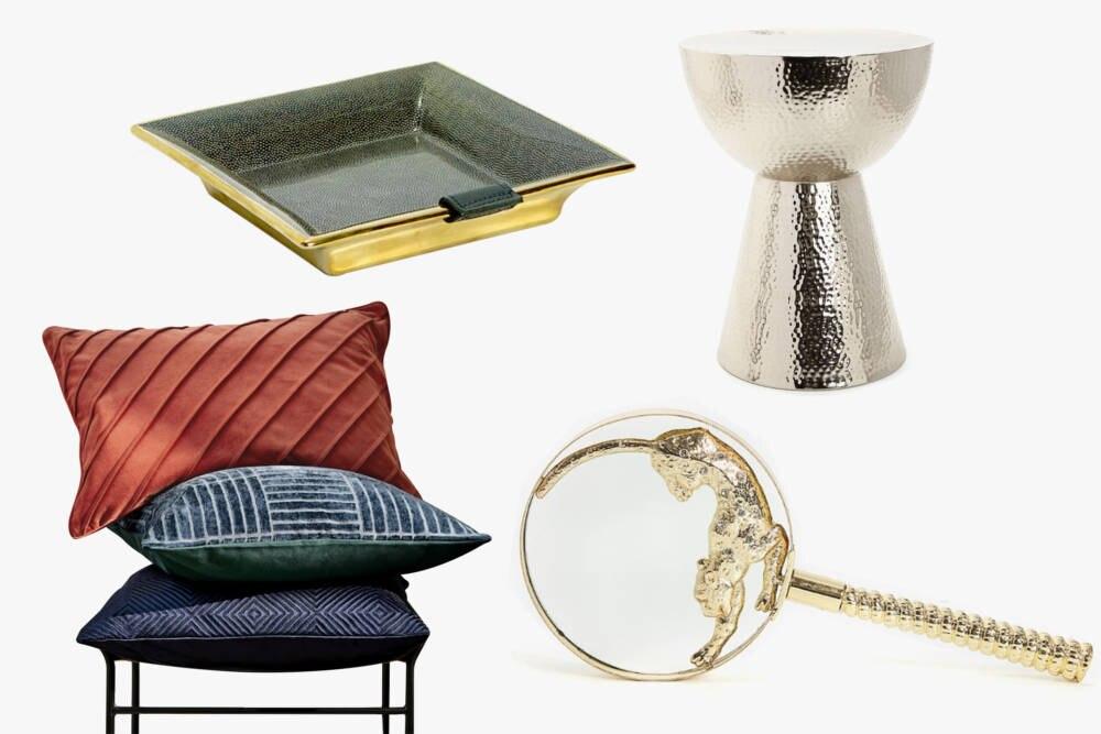 Deko-Artikel für die Wohnung von Zara-Home und H&M Home