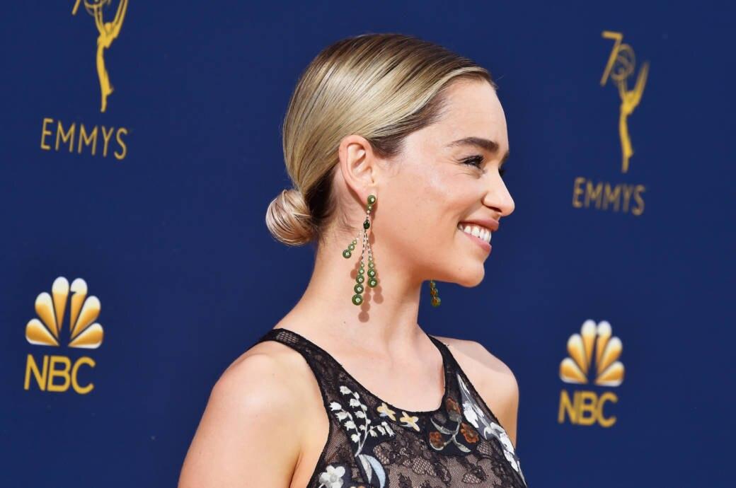 Emilia Clarks Frisur Nach Game Of Thrones Stylebook