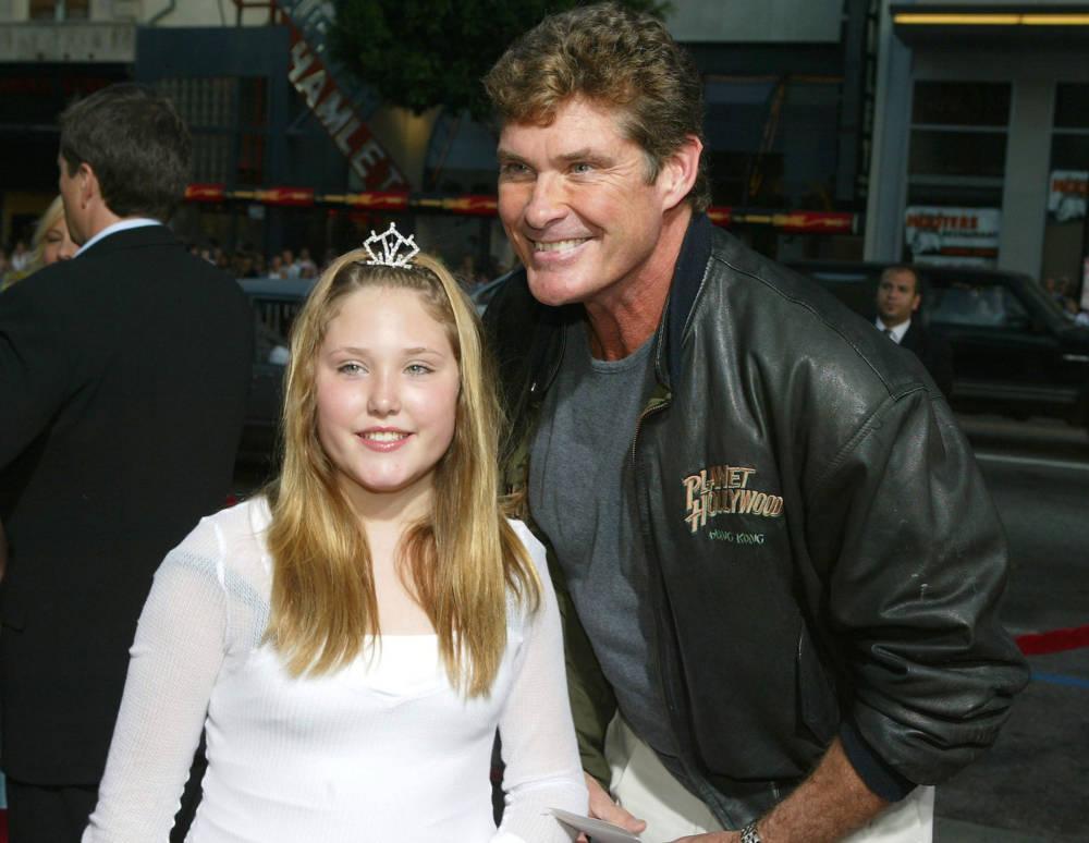 David Hasselhoff mit Tochter Hayley