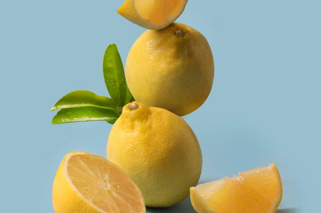 Stillleben mit Zitronen