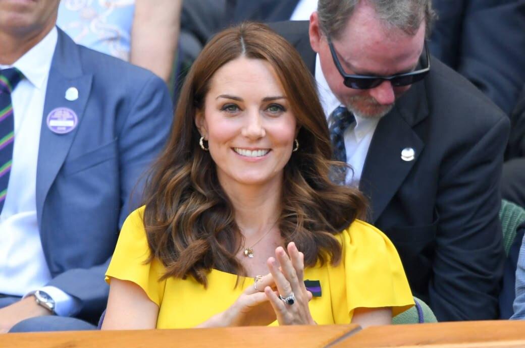 Herzogin Kate mit offenen Haaren